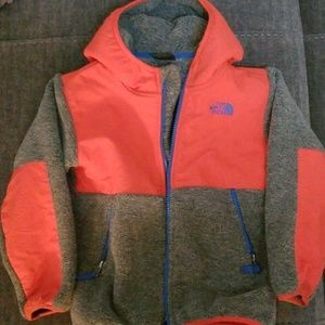Kids northface fleece jacket